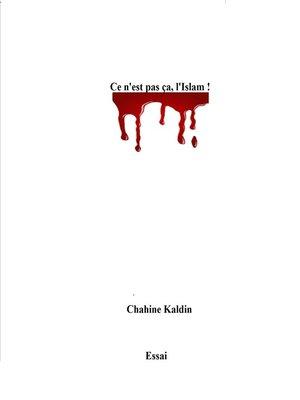 cover image of Ce n'est pas ça, l'islam