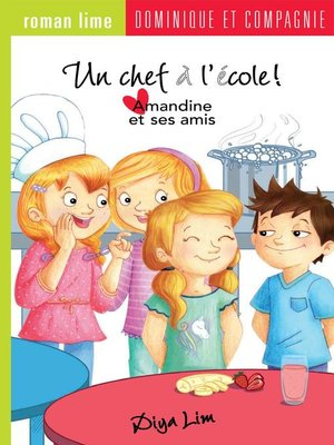 cover image of Un chef à l'école !