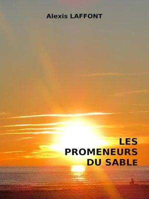 cover image of Les promeneurs du sable