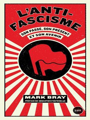 cover image of L'antifascisme