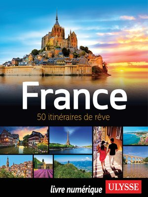 cover image of France--50 itinéraires de rêve