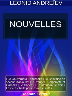 cover image of NOUVELLES
