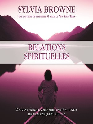 cover image of Relations spirituelles