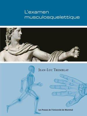 cover image of L'examen musculosquelettique
