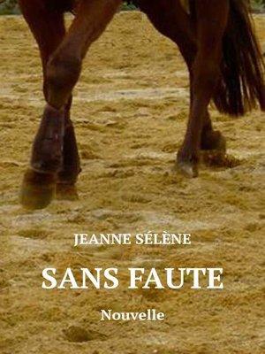 cover image of SANS FAUTE