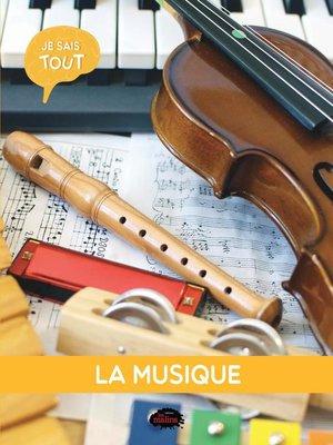cover image of La musique