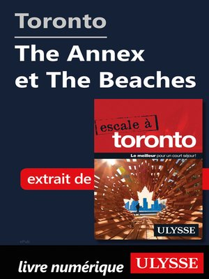 cover image of Toronto--The Annex et the Beaches