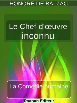 cover image of Le Chef-d'œuvre inconnu