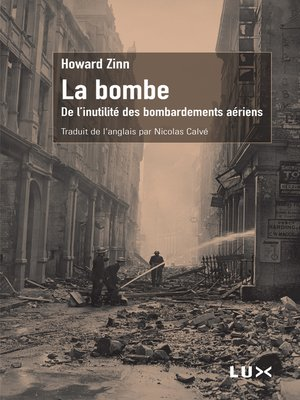 cover image of La bombe