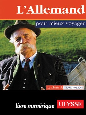 cover image of L'Allemand pour mieux voyager