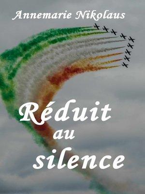 cover image of Réduit au silence