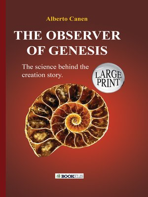 cover image of 26TH THE OBSERVER OF GENESIS. THE SCIENCE BEHIND THE CREATION STORY