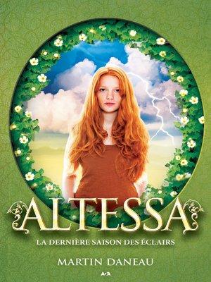 cover image of La dernière saison des éclairs