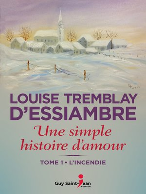 cover image of L'incendie