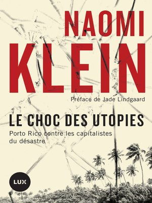 cover image of Le choc des utopies