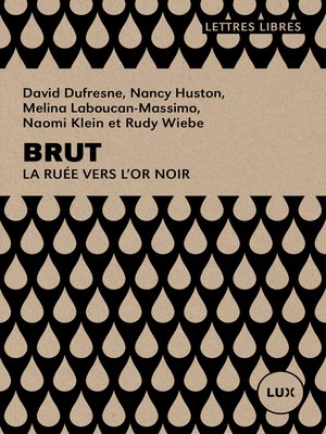 cover image of Brut