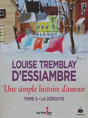 cover image of Une simple histoire d'amour