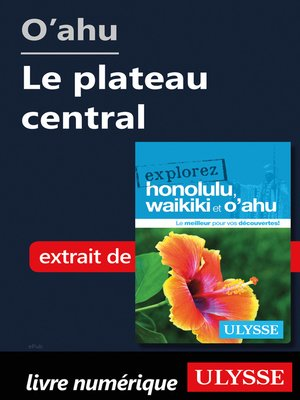 cover image of O'ahu--Le plateau central
