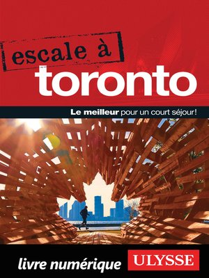 cover image of Escale à Toronto