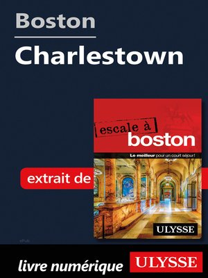 cover image of Boston--Charlestown