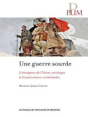 cover image of Une guerre sourde