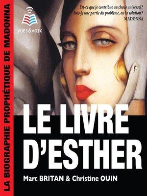 cover image of Le livre d'Esther