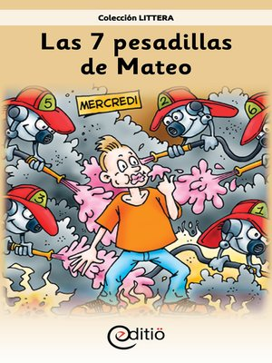 cover image of Las 7 pesadillas de Mateo