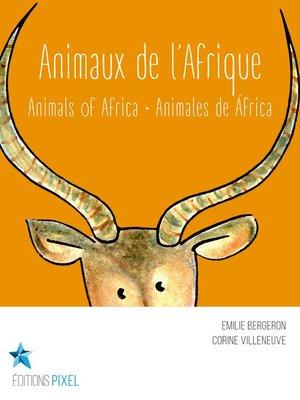 cover image of Animaux de l'Afrique