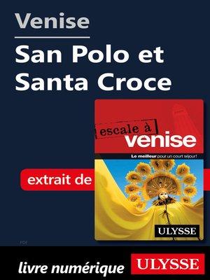 cover image of Venise--San Polo et Santa Croce