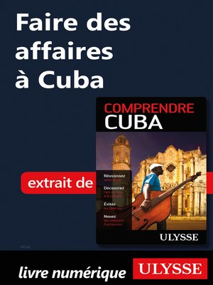 cover image of Faire des affaires à Cuba