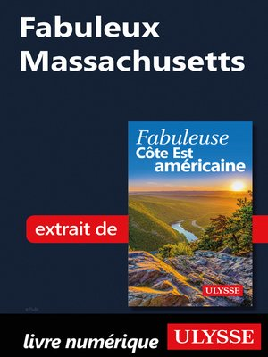 cover image of Fabuleux Massachusetts