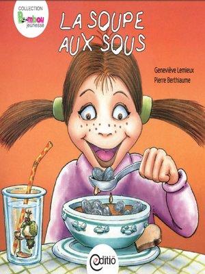 cover image of La soupe aux sous
