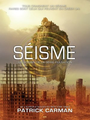 cover image of Séisme