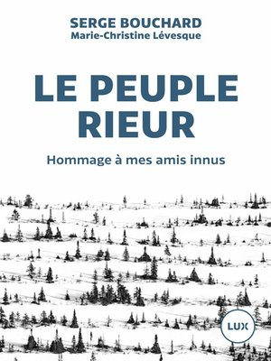 cover image of Le peuple rieur