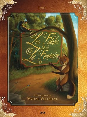cover image of Les fables de La Fontaine
