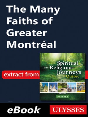 cover image of The Many Faiths of Greater Montréal