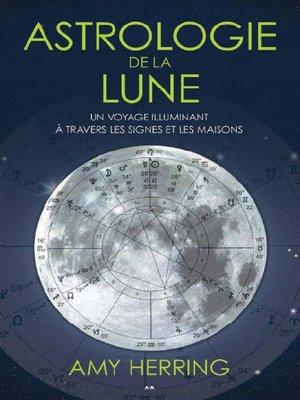 cover image of Astrologie de la lune