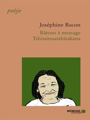 cover image of Bâtons à message