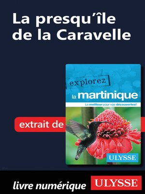 cover image of Martinique--La presqu'île de la Caravelle