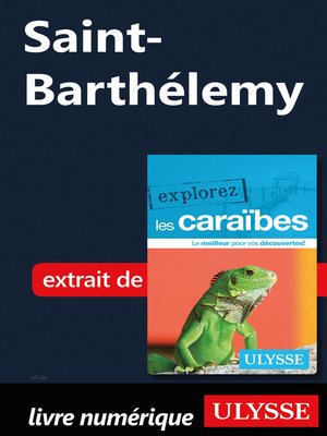 cover image of Saint-Barthélemy
