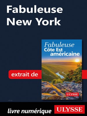 cover image of Fabuleuse New York