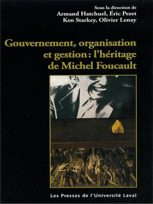 cover image of Gouvernement, organisation et gestion