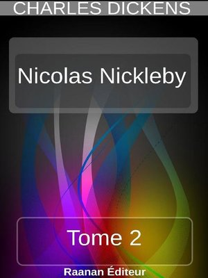 cover image of Nicolas Nickleby 2