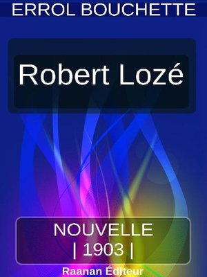 cover image of ROBERT LOZÉ