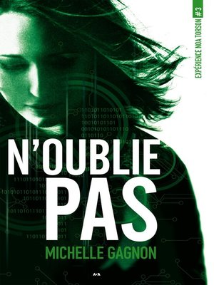 cover image of N'oublie pas