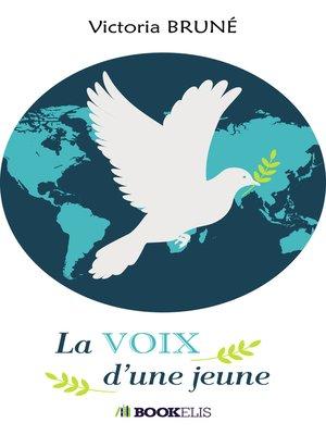 cover image of La voix d'une jeune