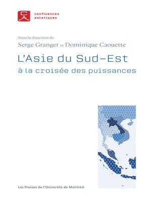 cover image of L'Asie du Sud-Est