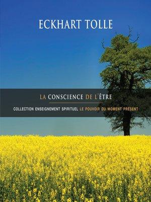 cover image of La conscience de l'être