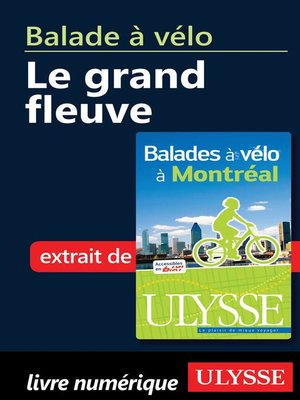 cover image of Balade à vélo à Montréal--le grand fleuve