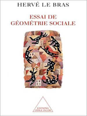 cover image of Essai de géométrie sociale